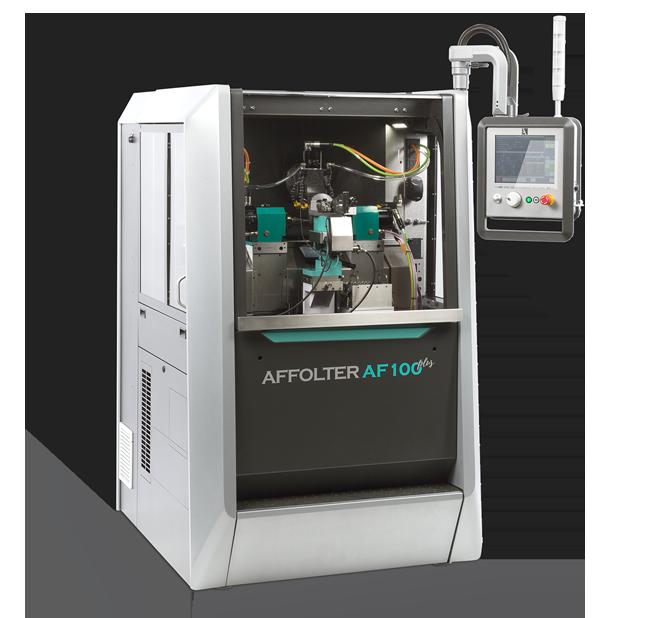 AFFOLTER AF100 <em>plus</em>, machine à tailler CNC pour produire des engrenages de précision microtechnique