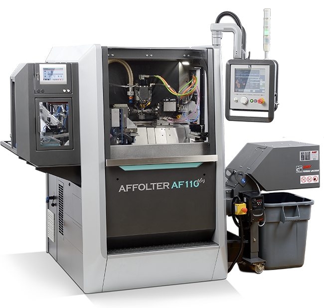 AFFOLTER AF110 <em>plus</em>, machine à tailler CNC pour produire des engrenages de précision microtechnique