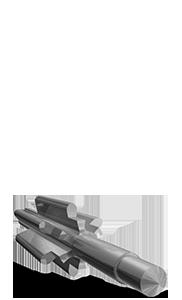 Pignons taillage droit Ø2.5x13 en acier - Engrenage AFFOLTER sur machine à tailler CNC