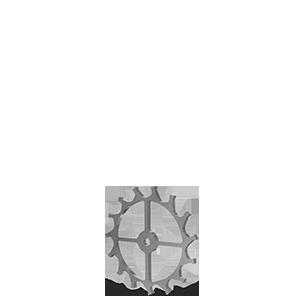 Roue d'échappement, taillage droit Ø5.4x0.25mm en acier - Engrenage d'horlogerie AFFOLTER sur machine à tailler CNC