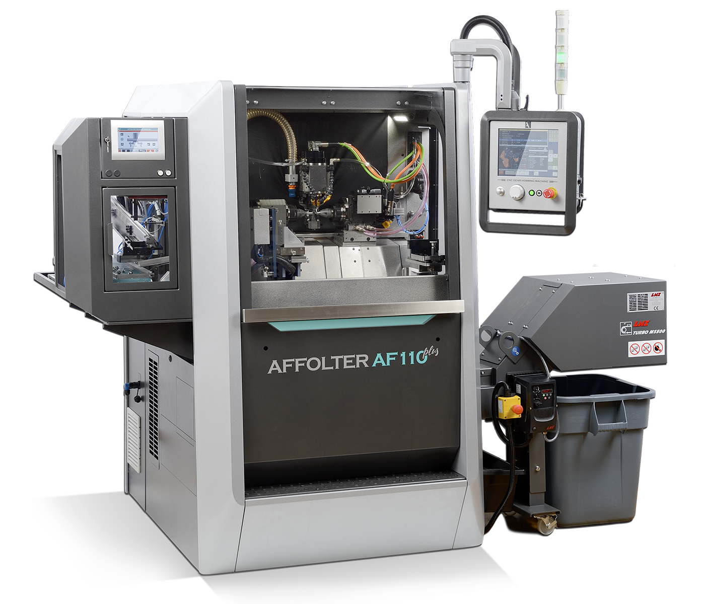 Machine à tailler CNC AFFOLTER AF110 plus, machine à tailler les engrenages microtechniques